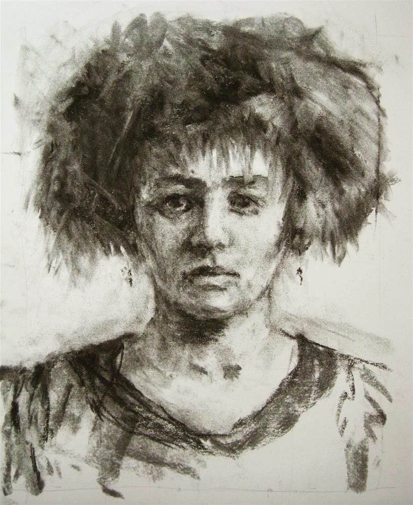 """""""No. 12"""" original fine art by Katie Wilson"""