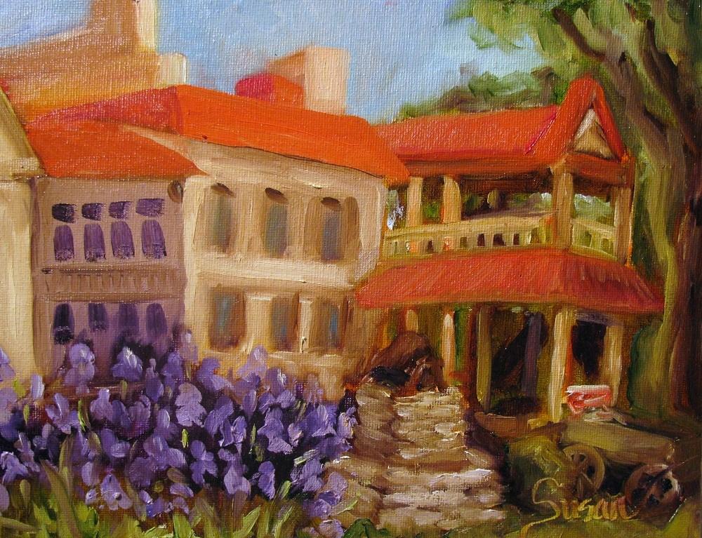 """Morning at Belle Meade"" original fine art by Susan Elizabeth Jones"