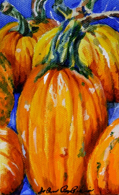 """Tis the Season"" original fine art by JoAnne Perez Robinson"