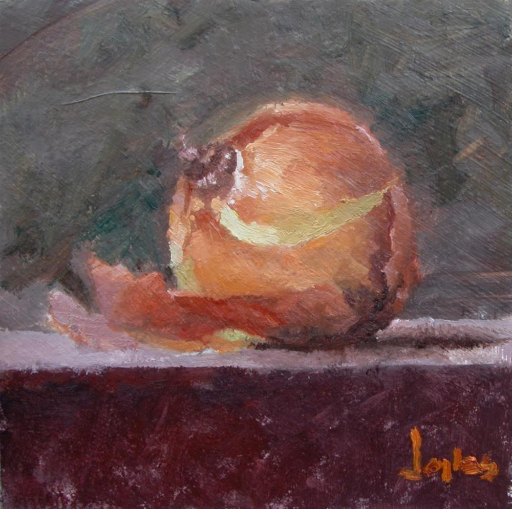 """Yellow Onion"" original fine art by Richard Jones"