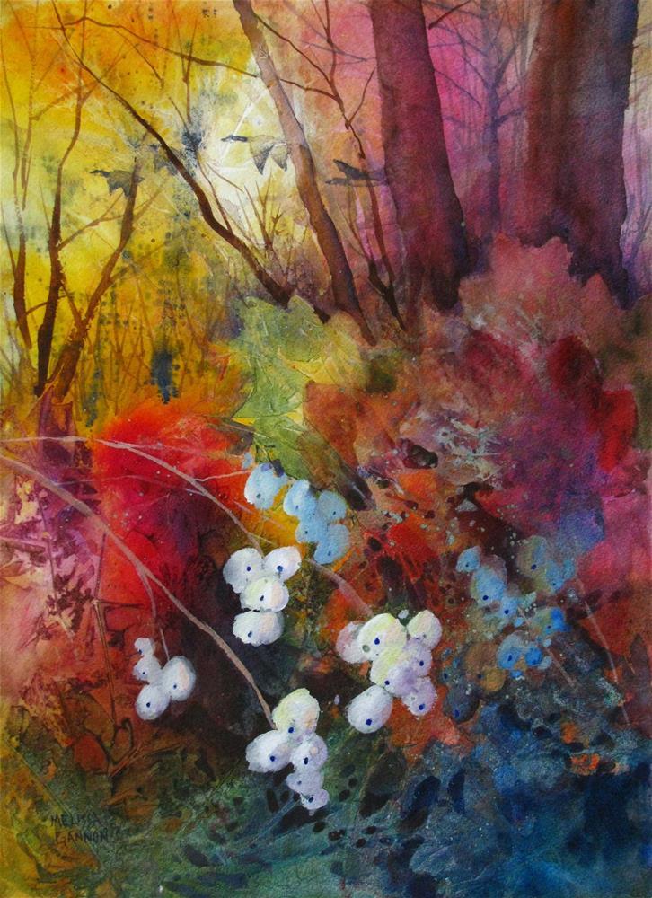 """""""Interweaving Melodies"""" original fine art by Melissa Gannon"""