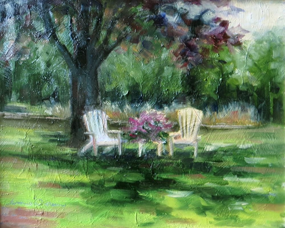 """Shade and Solace"" original fine art by Tammie Dickerson"