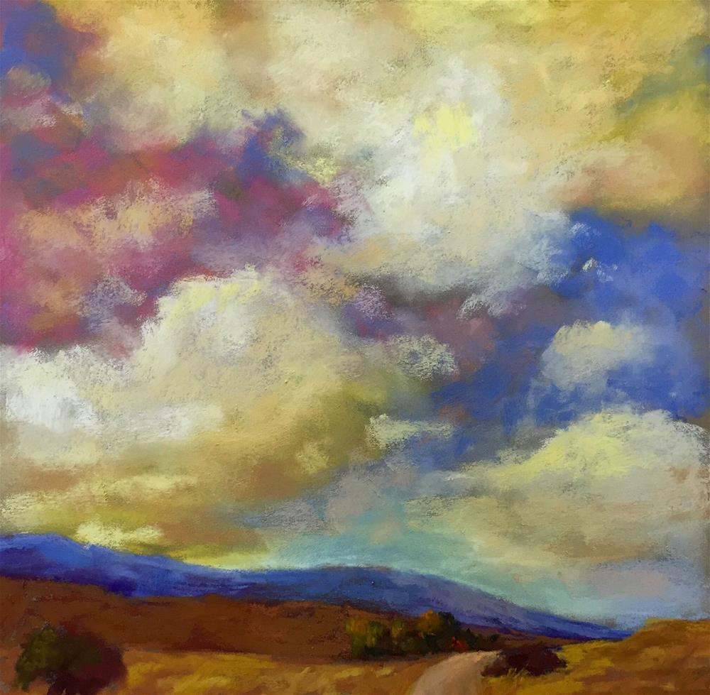"""Passing Clouds"" original fine art by Sherri Cassell"