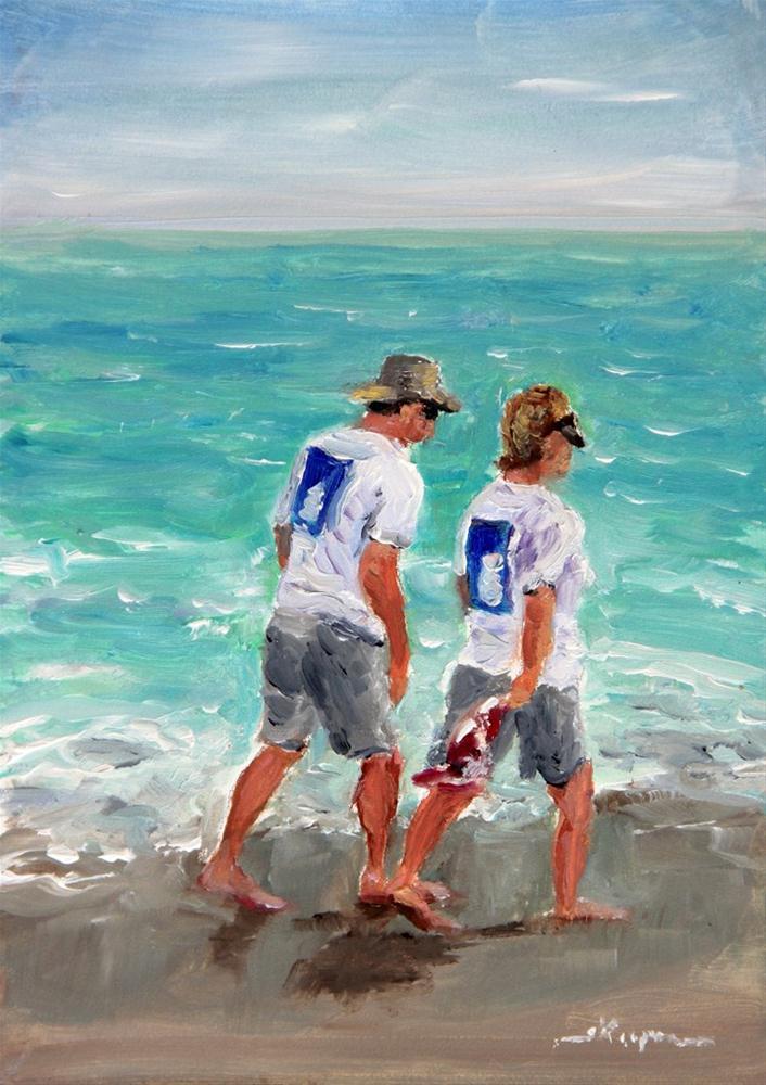 """""""Matched Pair"""" original fine art by Shelley Koopmann"""