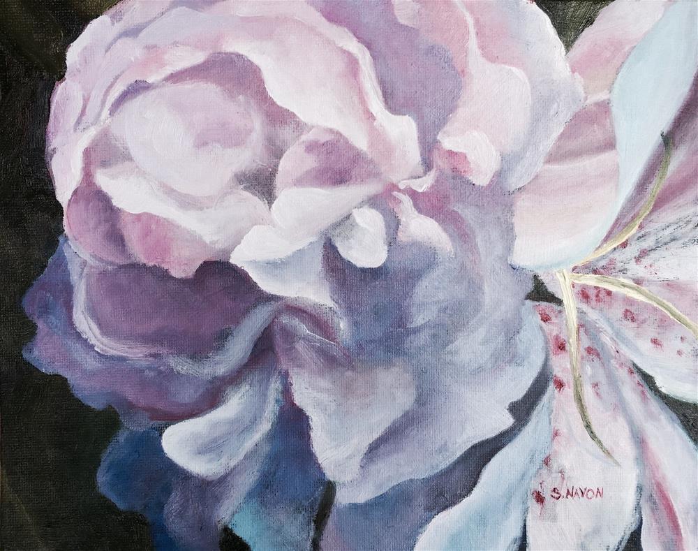 """Peony"" original fine art by Stephanie Navon Jacobson"