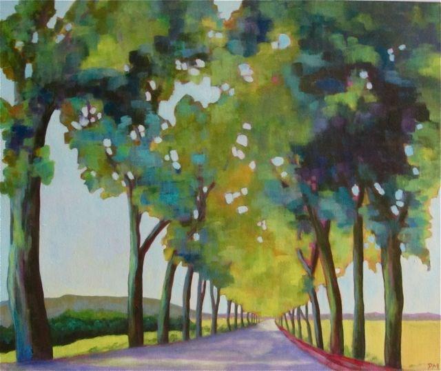 """Road Trip Provence"" original fine art by Patricia MacDonald"