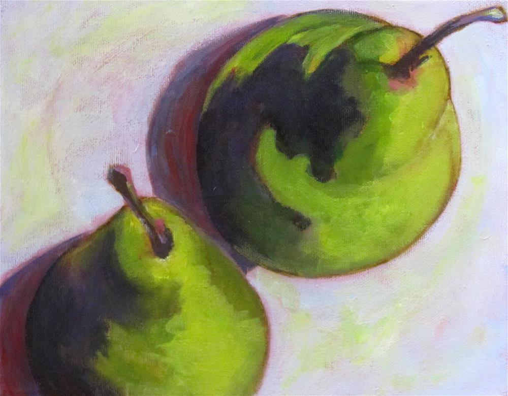 """Pear Down"" original fine art by Patricia MacDonald"