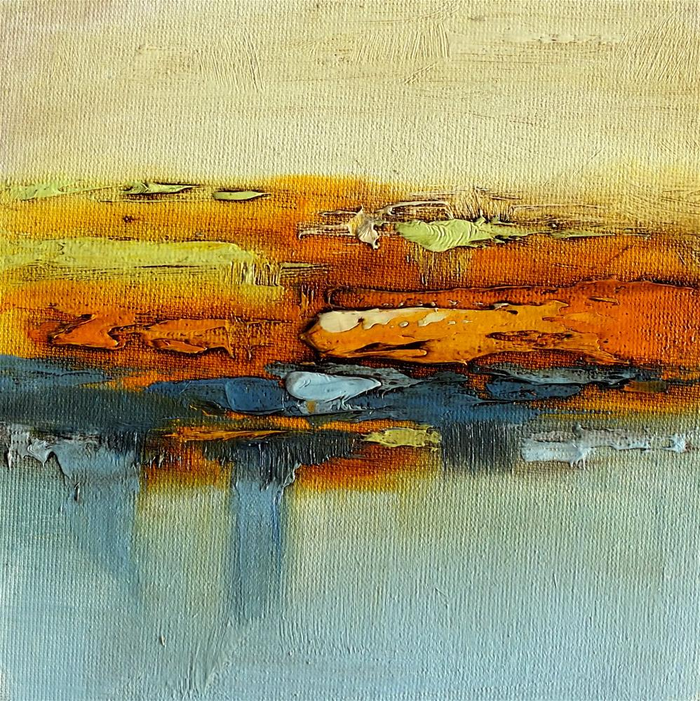 """Landscape 295"" original fine art by Ewa Kunicka"
