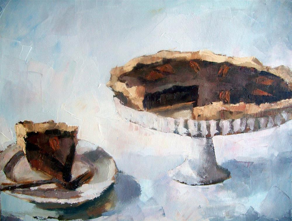 """""""Pecan Pie"""" original fine art by Nava Judith"""