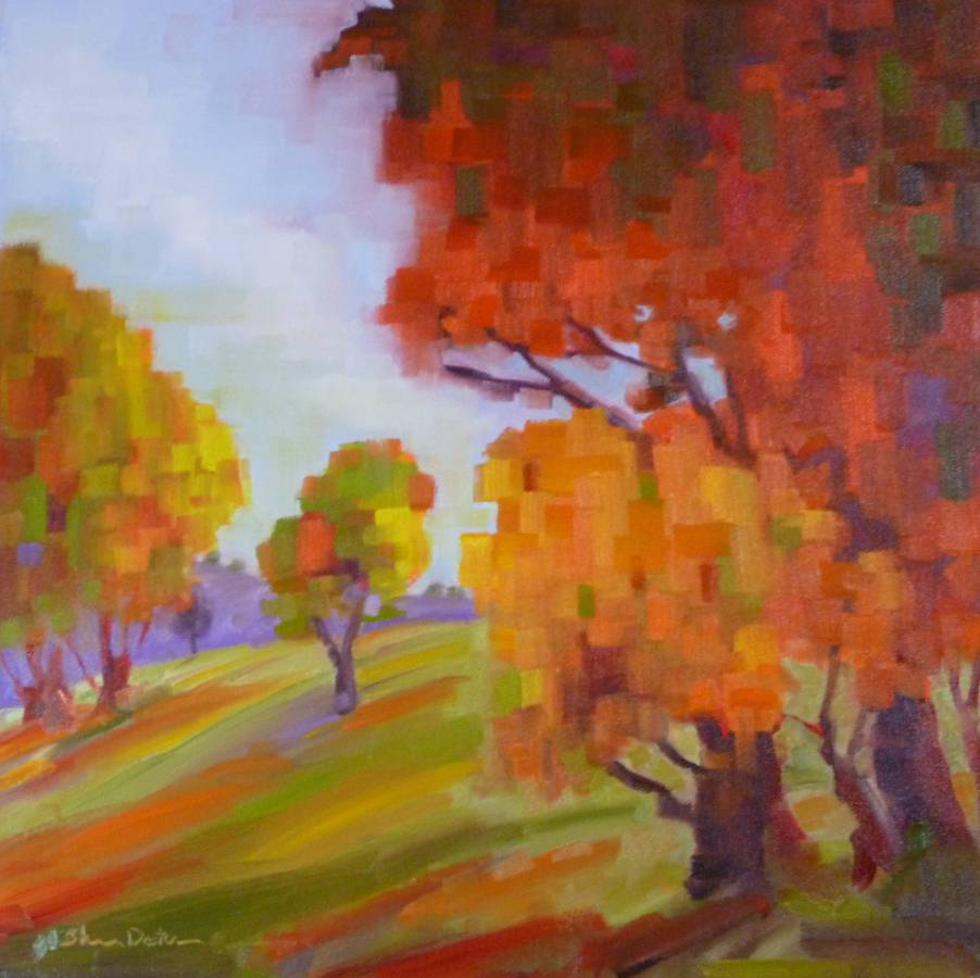 """Autumn Jewels"" original fine art by Shawn Deitch"