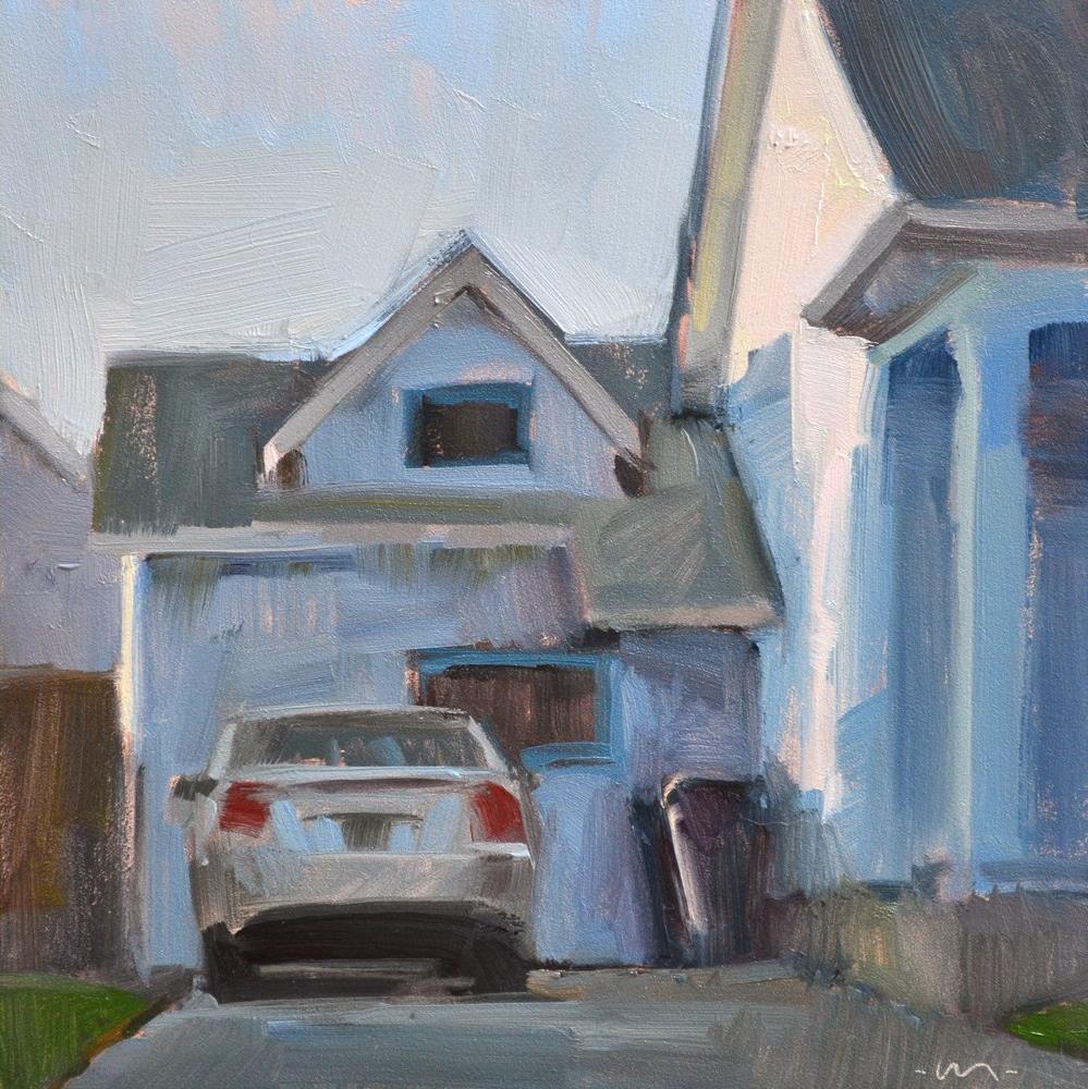 """Just Got Home"" original fine art by Carol Marine"