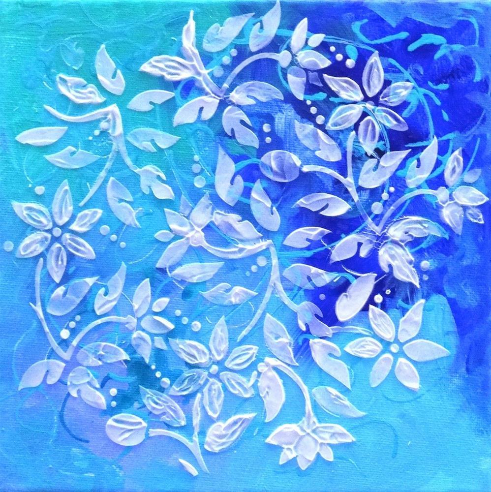 """""""5019 - Cool Jasperware I"""" original fine art by Sea Dean"""