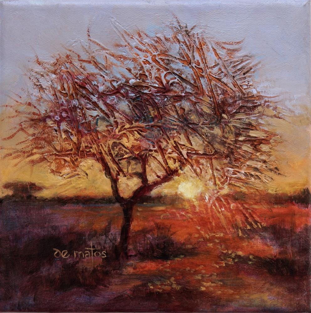 """Thornbush"" original fine art by Dalila de Matos"