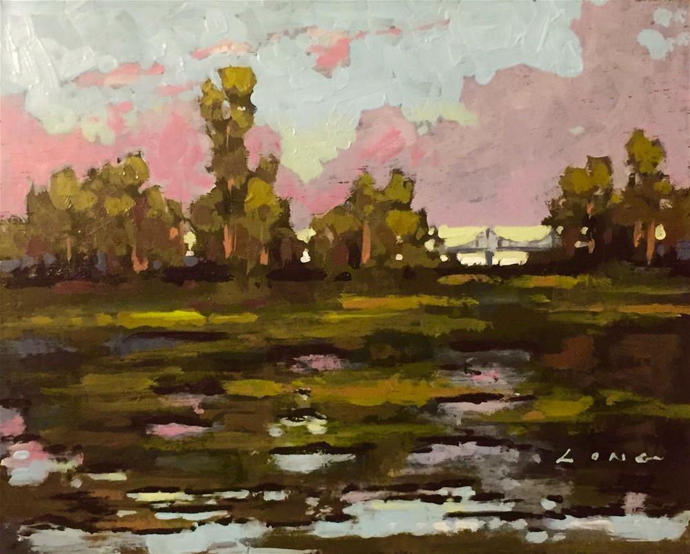 """Bayou Segnette"" original fine art by Chris Long"