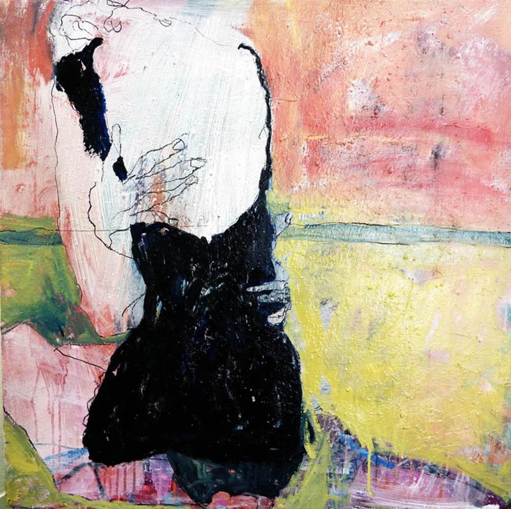 """""""Umarme mich"""" original fine art by Mila Plaickner"""