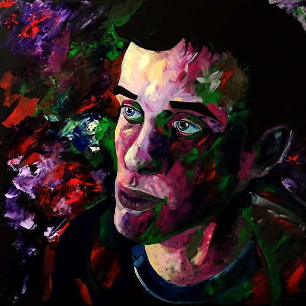 """Mark Adam Webster - Portrait Painting. T.R. 2/17/16"" original fine art by Mark Webster"