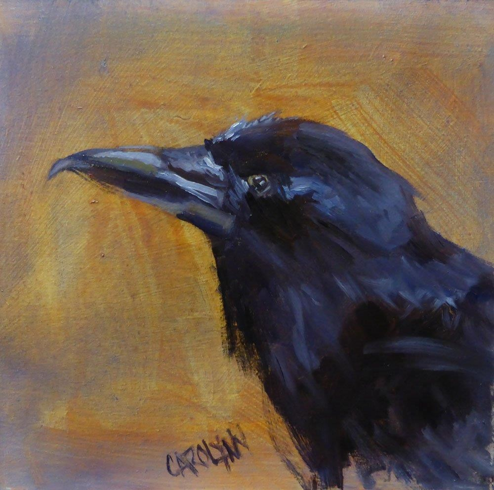 """All Beak"" original fine art by Carolynn Doan"
