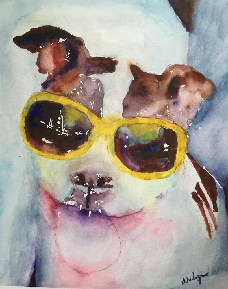 """Sassy"" original fine art by Juan Velasquez"