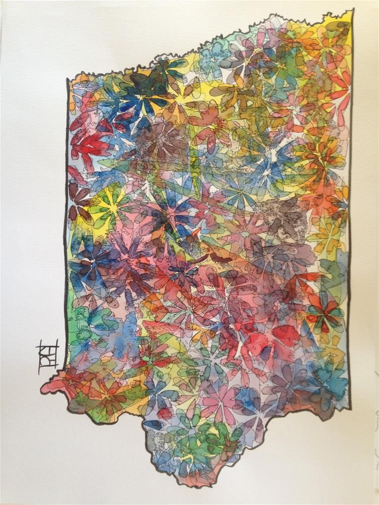 """Iowa"" original fine art by Arron McGuire"