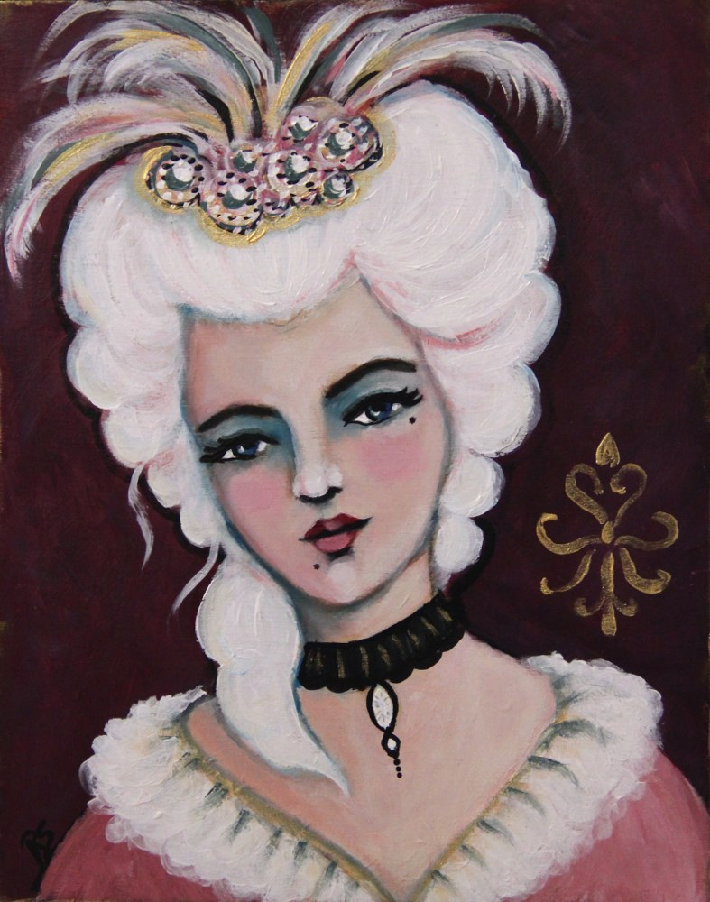 """Maria Christina"" original fine art by Roberta Schmidt"