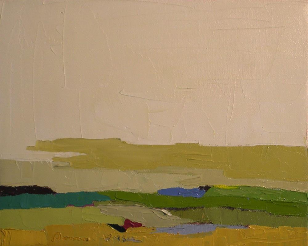 """Terrain X"" original fine art by Donna Walker"