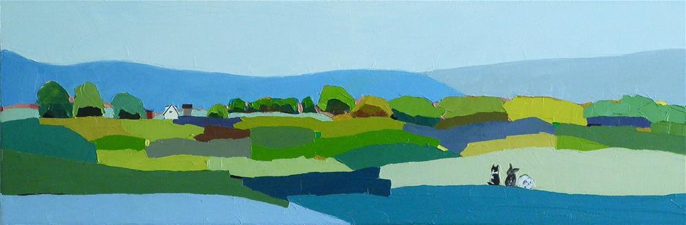 """Nokesville Commission"" original fine art by Donna Walker"