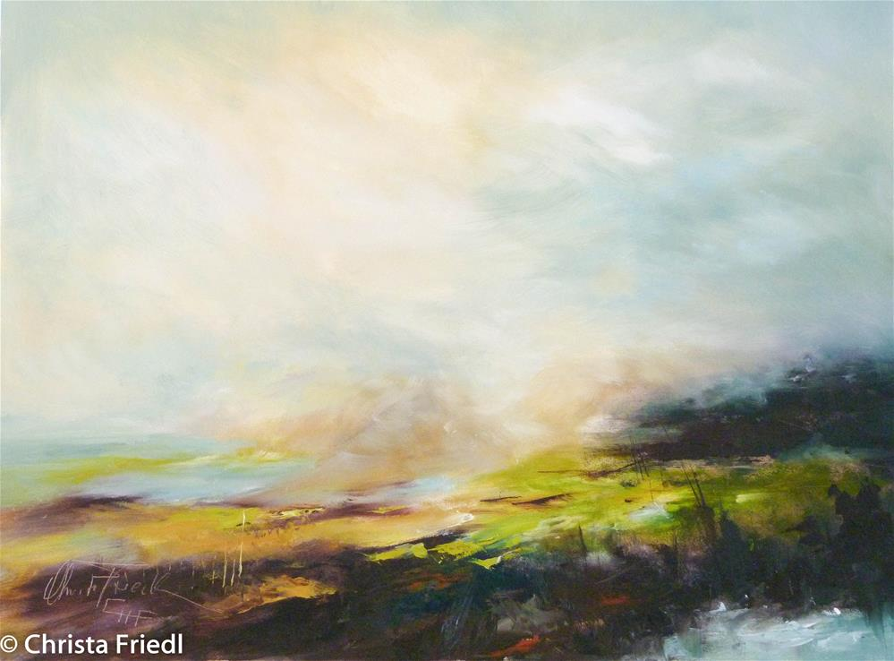 """Spring is in the air"" original fine art by Christa Friedl"