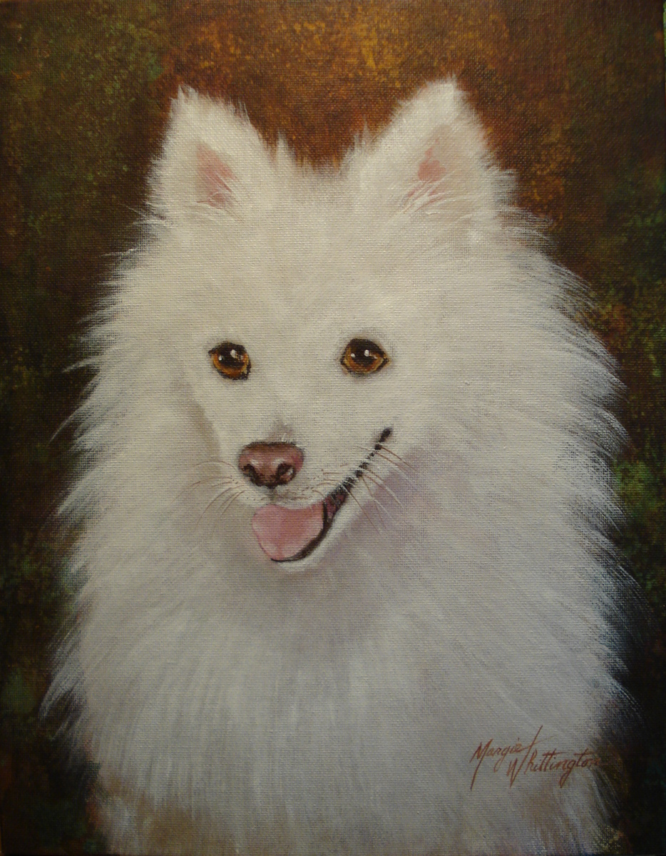 """Herman"" original fine art by Margie Whittington"
