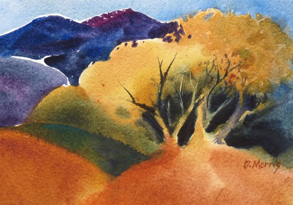 """Autumn Glow"" original fine art by Dann Morris"