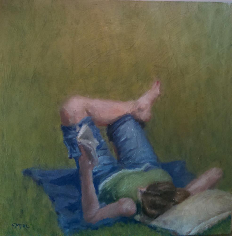 """Saturday in the Park"" original fine art by Cheri Sperl"