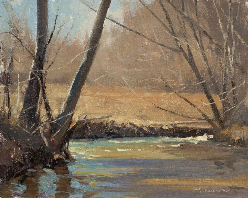 """2-22-1 South Boulder Creek"" original fine art by Marc Hanson"