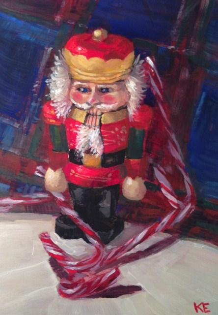 """The Nutcracker"" original fine art by Krista Eaton"