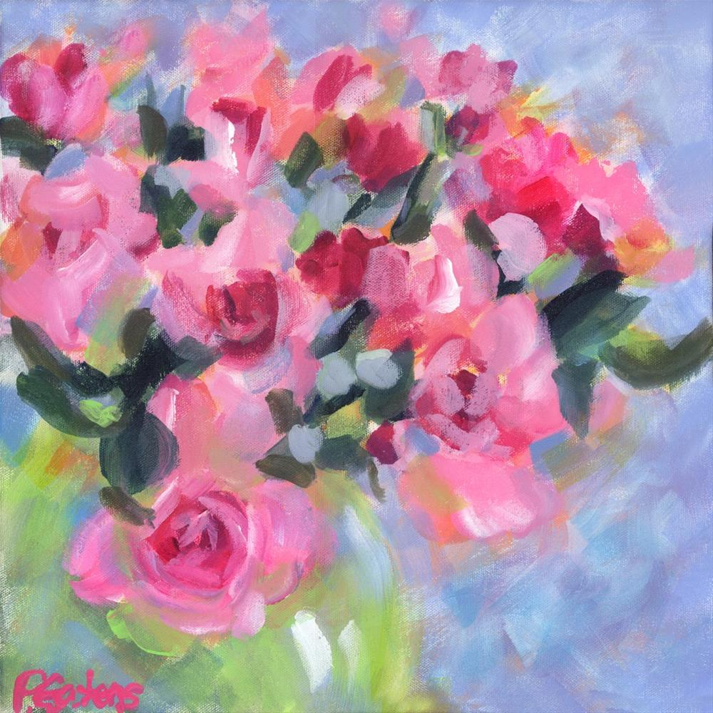 """Petite Pinks"" original fine art by Pamela Gatens"