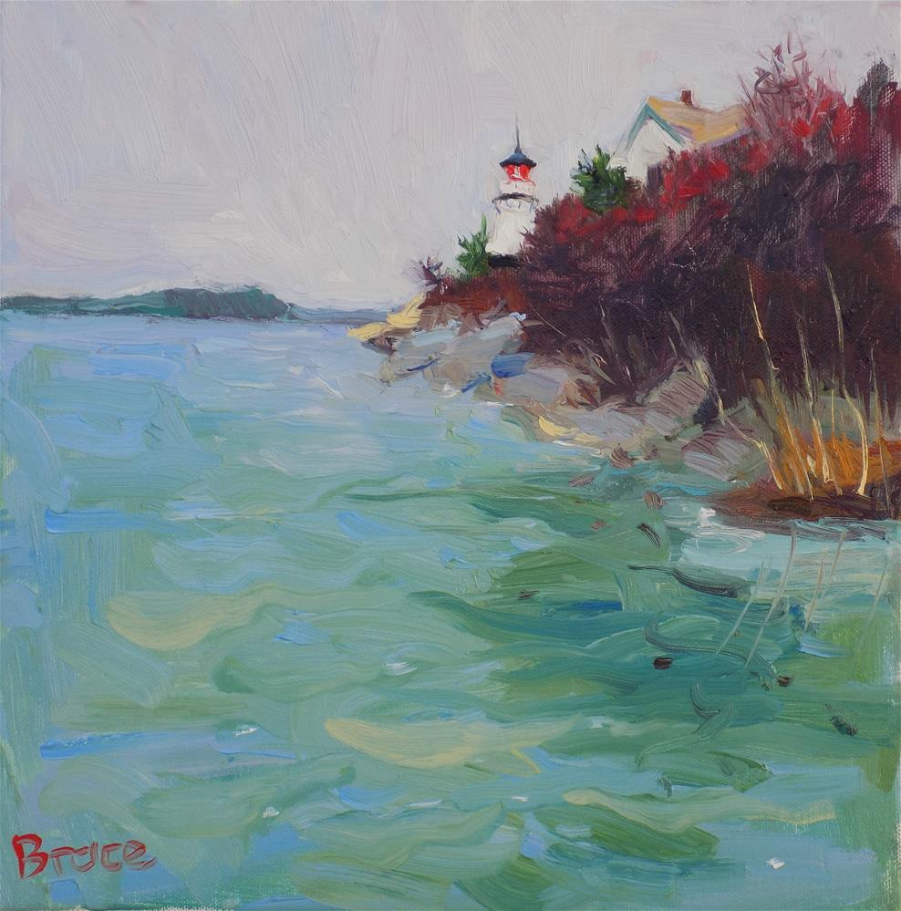 """Perkins Island Maine"" original fine art by Rita Brace"
