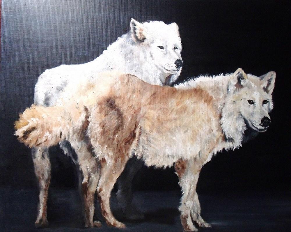 """""""Heeding the Call"""" original fine art by Nelvia  McGrath"""