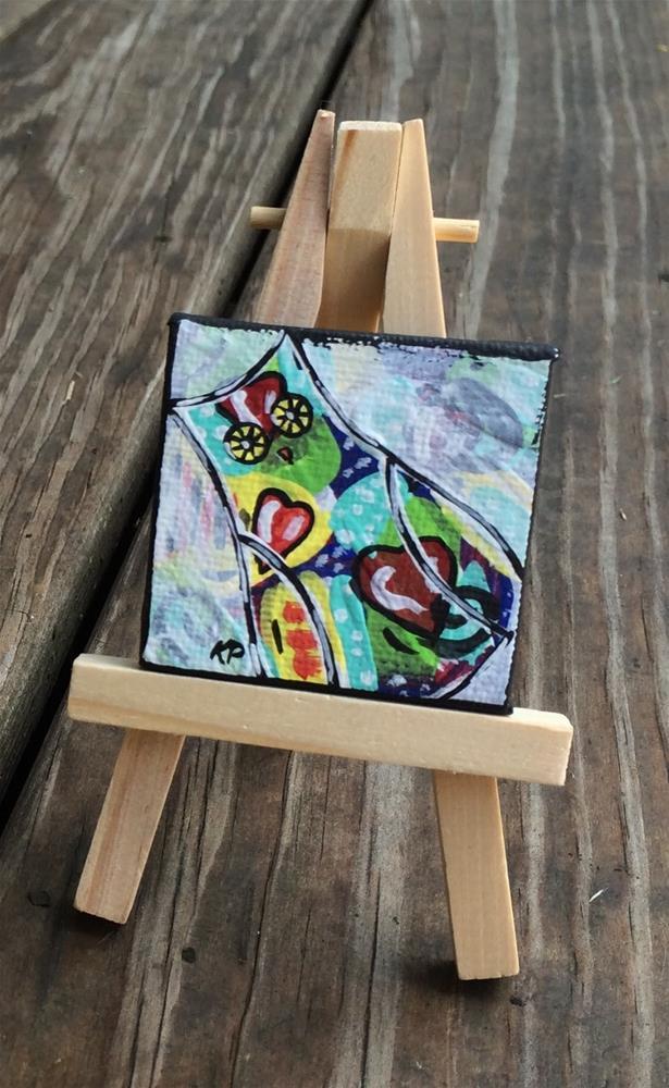 """Three Times the Love"" original fine art by Kali Parsons"