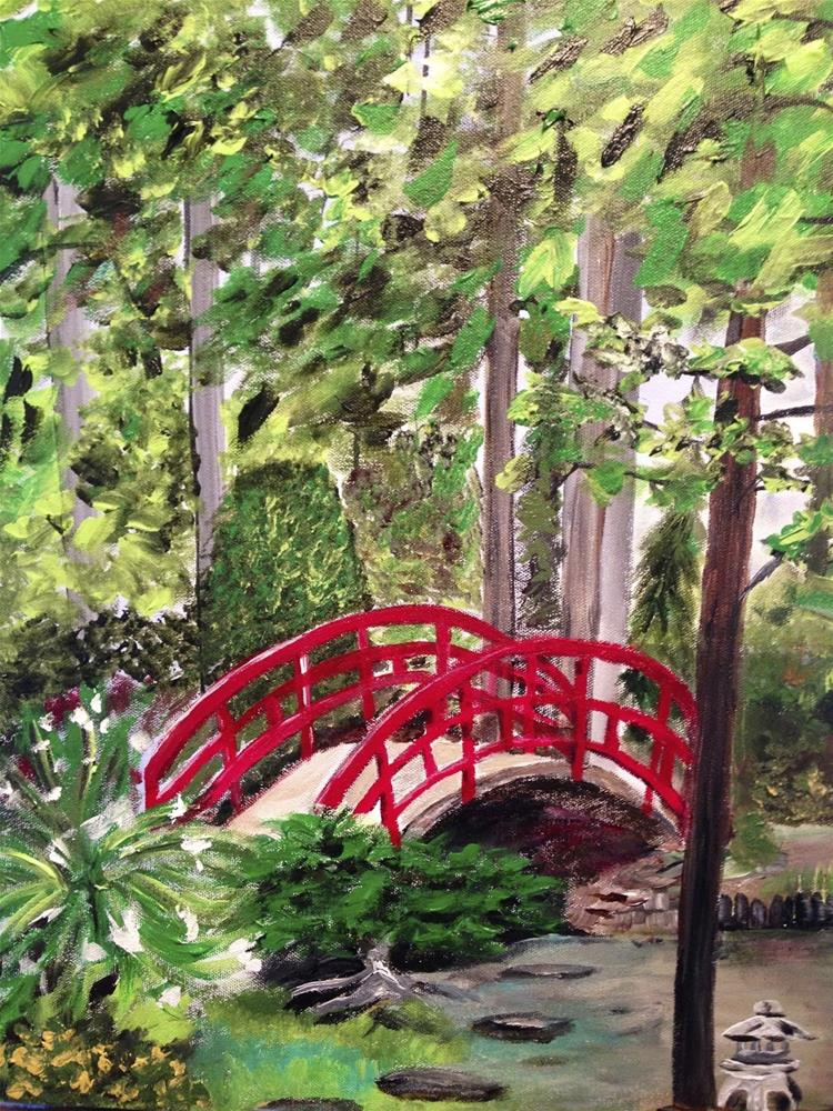 """Duke Bridge #10-30in30"" original fine art by Kimberly Balentine"