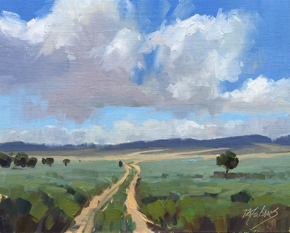 """Road to Nowhere, Utah"" original fine art by Mary Jabens"