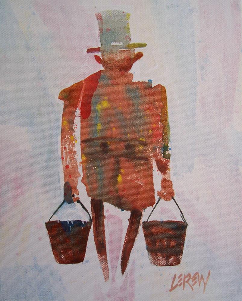 """""""Rainmaker by Larry Lerew 100838"""" original fine art by Larry Lerew"""