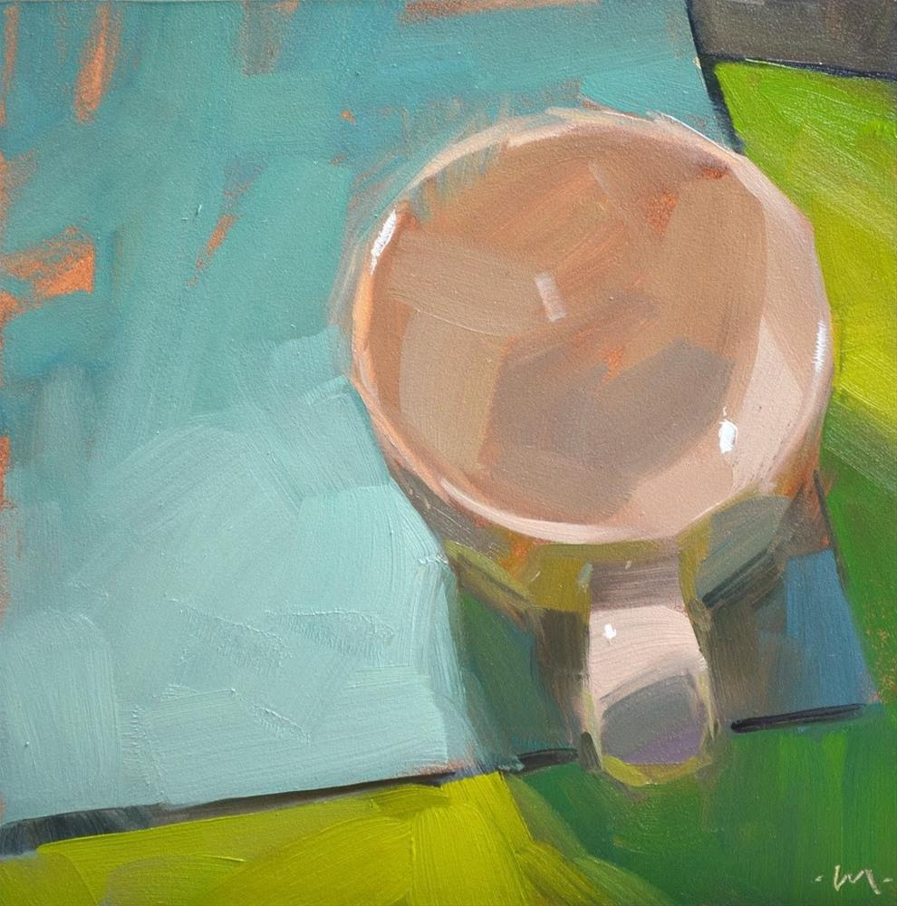 """Simple Cup 3"" original fine art by Carol Marine"