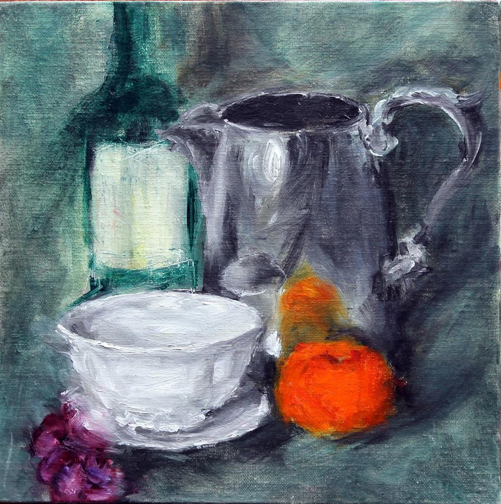 """Reflectioins"" original fine art by Karen Solorzano"