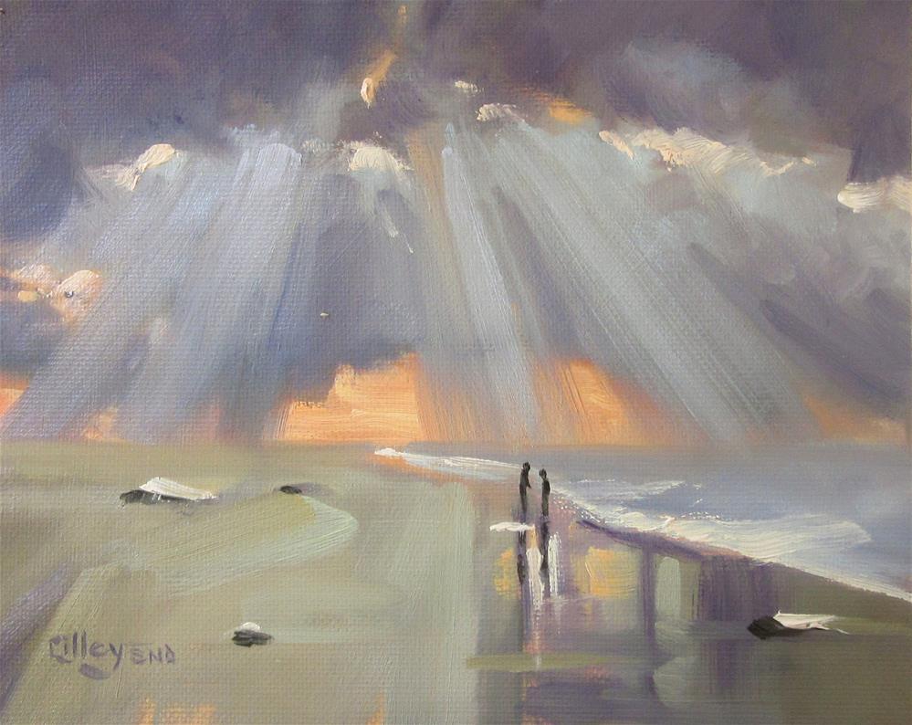 """""""Inbreaking"""" original fine art by Maresa Lilley"""