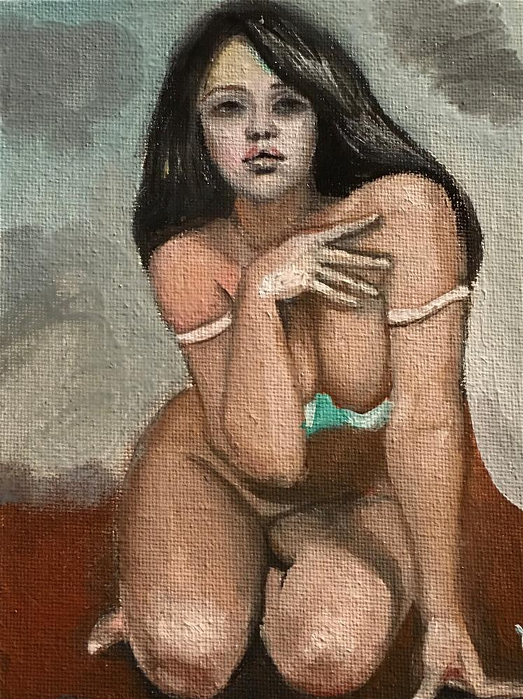 """nude"" original fine art by tian yin"