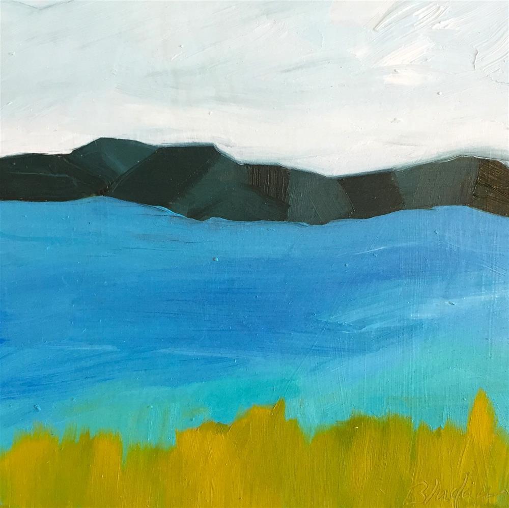 """Landscape 2"" original fine art by Janet Bludau"