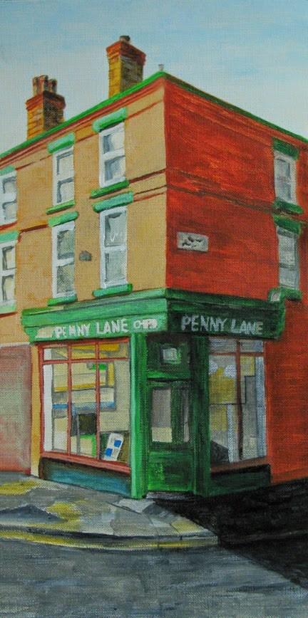 """""""Penny Lane"""" original fine art by Nan Johnson"""