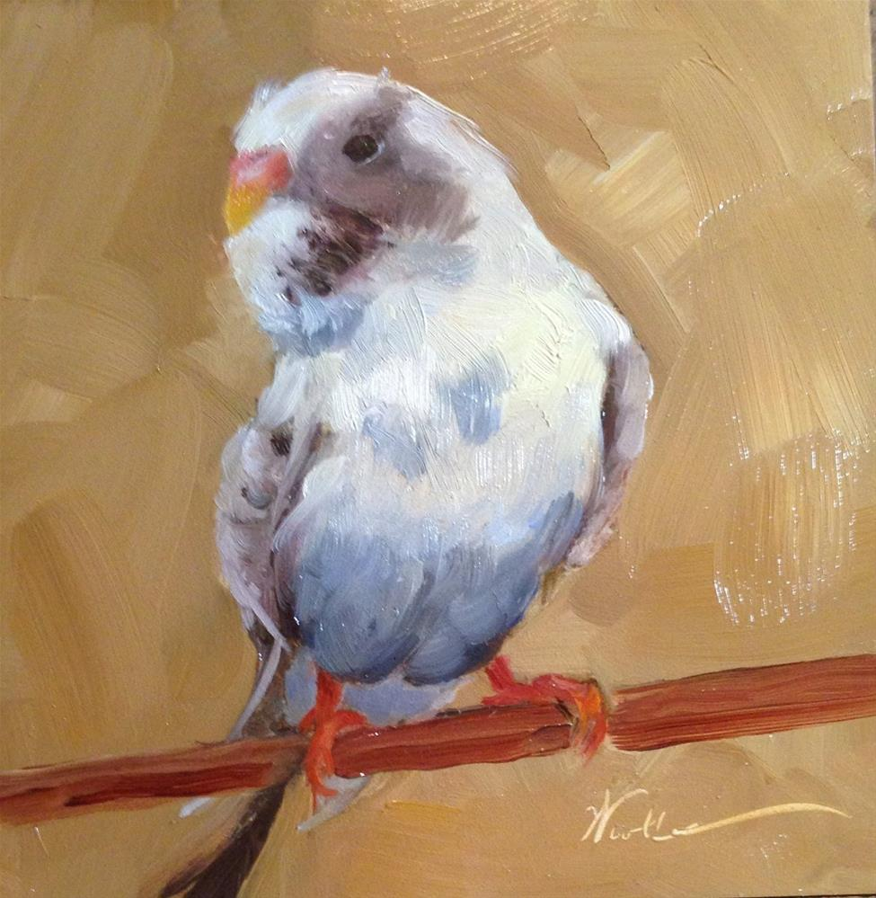 """Houseguest"" original fine art by Dorothy Woolbright"