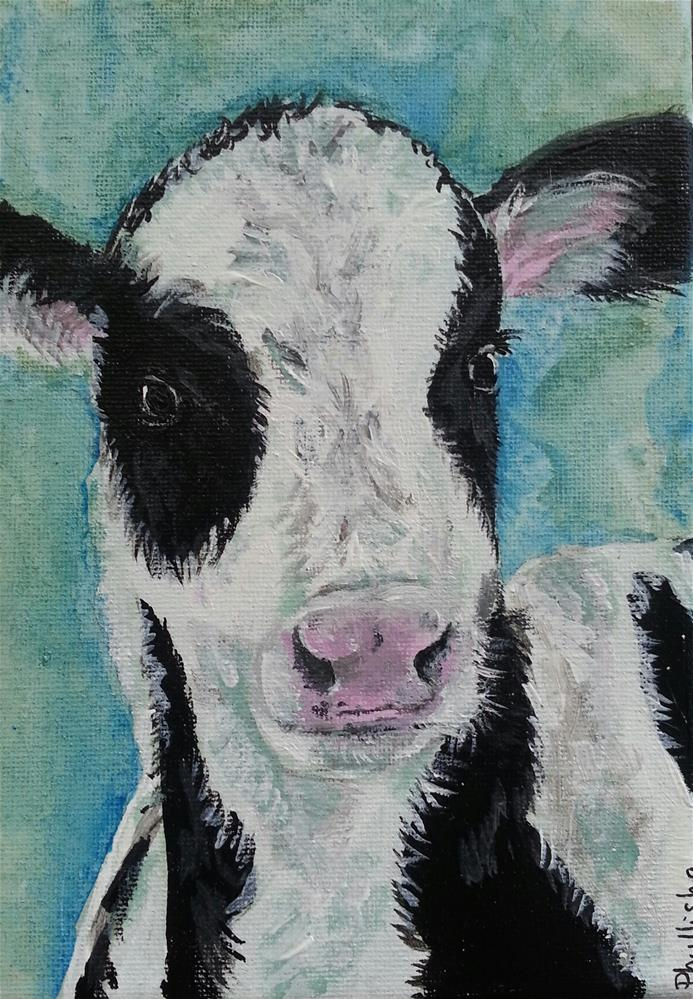 """Peewee"" original fine art by Phyllisha Hamrick"