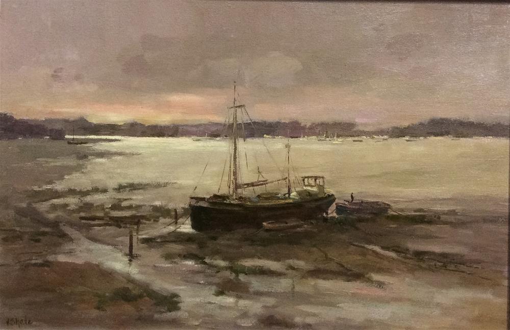 """Manon Pin Mill"" original fine art by John Shave"