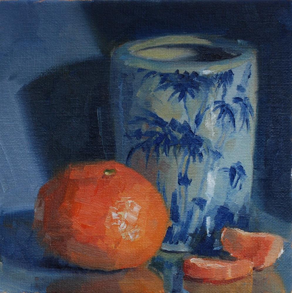 """""""Dining Room Still Life"""" original fine art by Susan McManamen"""