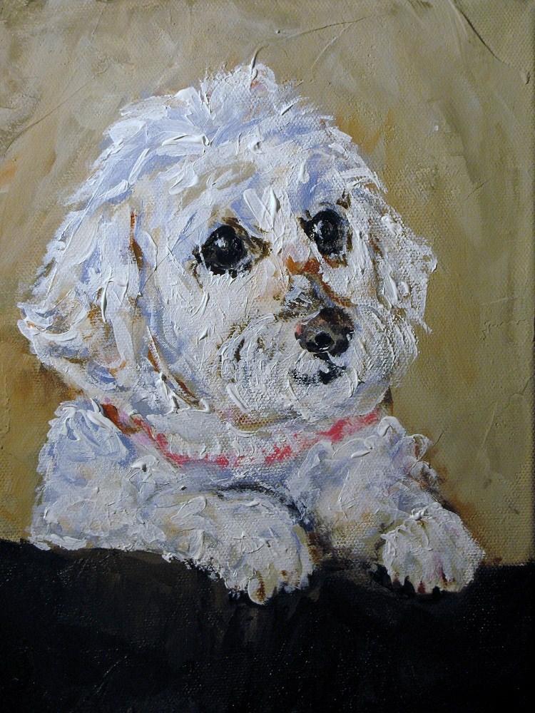 """Lil' Sophie"" original fine art by Susan Elizabeth Jones"